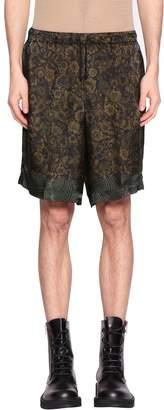 Dries Van Noten Piper Viscose Shorts