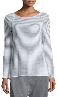 Eileen Fisher Cashmere Striped Wool Tunic $298 thestylecure.com