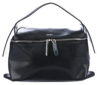 Kenzo Leather Zip Satchel