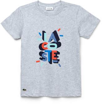 Lacoste (ラコステ) - Boys プリントTシャツ (半袖)
