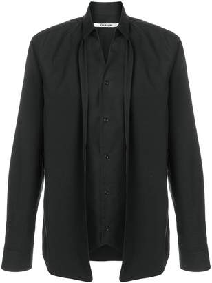 Chalayan double layer shirt