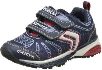 Geox Kids J BERNIE B Sneakers, Navy/Red