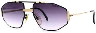 Christian Dior 2516 94 Black and Gold Authentic Men Vintage Sunglasses
