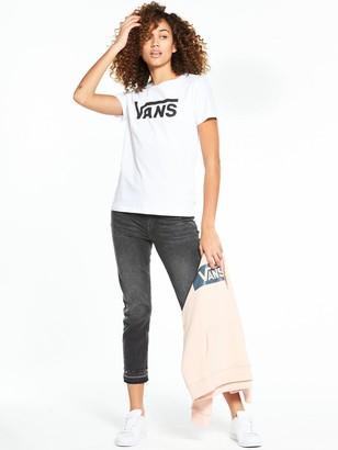 a08b01a4 Vans Flying V Crew T-Shirt - White