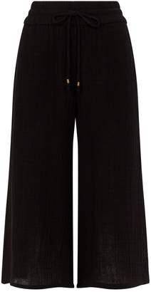 Eileen Fisher Textured Cotton Culottes