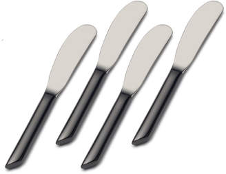 Towle Living Wave Noir Forged Set of 4 Spreaders