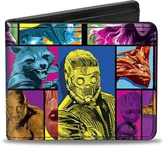 Buckle-Down Men's Bifold Wallet Guardians of The Galaxy