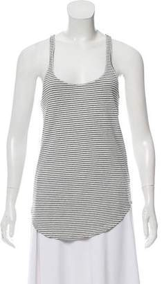 Etoile Isabel Marant Linen Striped Tank Top