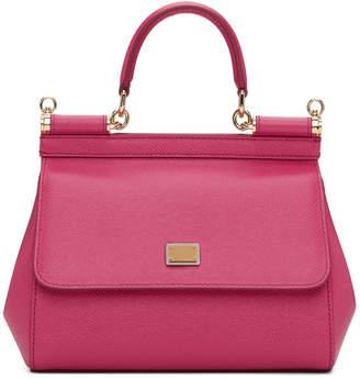 9a36cf5abe8 Dolce & Gabbana Pink Small Miss Sicily Bag