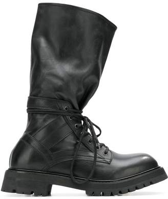 Diesel Black Gold mid-top boots