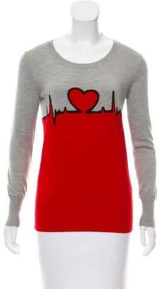Markus Lupfer Long Sleeve Wool Sweater