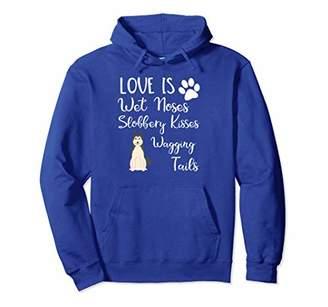 Husky Dog Lover Hoodie Sweatshirt I Love My Dog