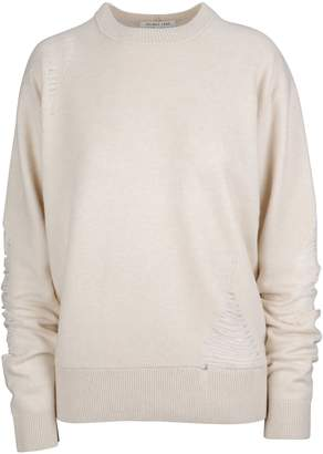 Helmut Lang Laddered Crew Neck Sweater