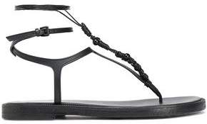Ann Demeulemeester Embellished Leather Sandals
