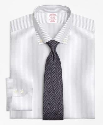 Brooks Brothers Madison Classic-Fit Dress Shirt, Non-Iron Narrow Split Stripe