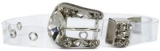 B-Low the Belt Riley crystal-embellished belt