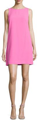 Trina Turk Kyhle Sleeveless Split-Back Shift Dress $248 thestylecure.com