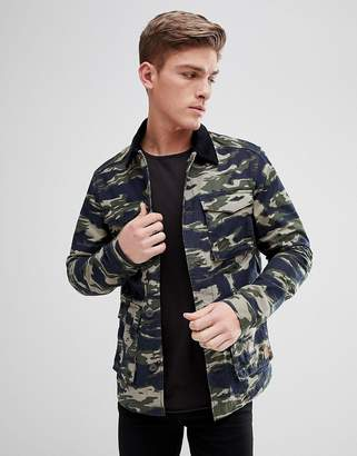 Jack and Jones Originals Camo Field Jacket