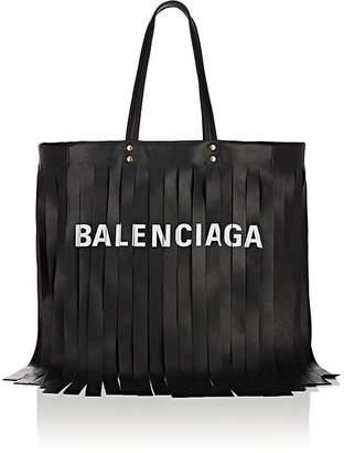 Balenciaga Women's Laundry Cabas Medium Leather Tote Bag