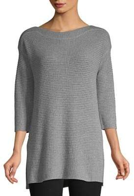 Lord & Taylor Waffle Knit Sweater
