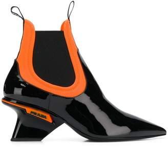 Prada pointed chelsea boot