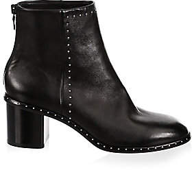 Rag & Bone Women's Willow Stud Leather Booties