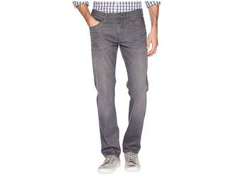 Mavi Jeans Marcus Slim Straight Leg in Light Grey Brooklyn