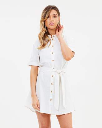 Atmos & Here ICONIC EXCLUSIVE - Peri Linen Shirt Dress