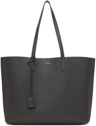 Saint Laurent Grey East West Shopping Tote
