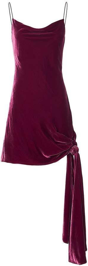 Cinq à Sept Ryder Gathered Velvet Dress