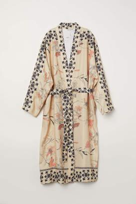 H&M Linen-blend Kimono