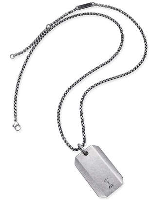 Steve Madden Men's Dog Tag Necklace