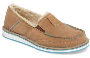 Ariat Cruiser Slip-On Loafer with Faux Shearling Lining