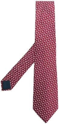 Lanvin arrow pattern printed tie