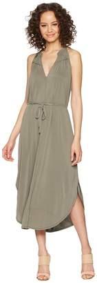 Splendid Waist Tie Dress Women's Dress
