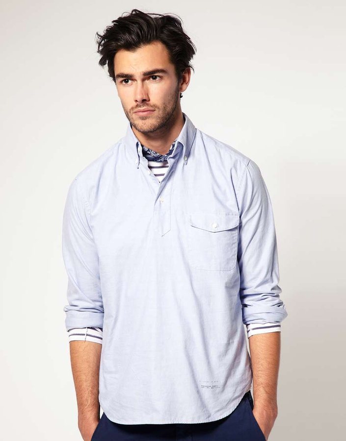 Gant Rugger Overhead Oxford Cotton Shirt Sold Out ...