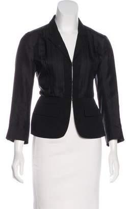 Prada Notch-Lapel Long Sleeves Jacket