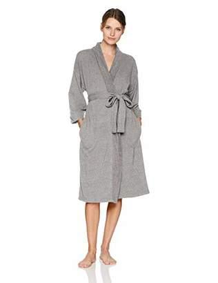 Arabella Women's Baby Terry Kimono Wrap Robe
