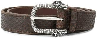 Orciani dragon buckle detail belt