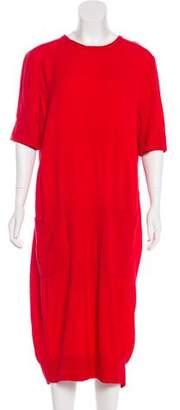 Raquel Allegra Crepe Midi Dress