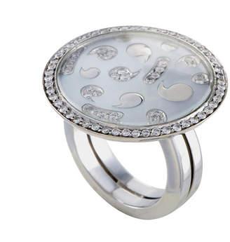 Mother of Pearl Heritage Korloff Korloff 18K White Gold 0.82 Ct. Tw. Diamond Ring