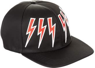 Neil Barrett Lightning Bolt Cap