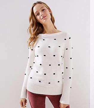 LOFT Bobble Stitch Sweater