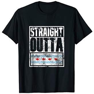 Funny Tees - Straight Outta Chicago T-Shirt