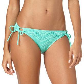 OP Juniors Op Juniors' Crochet Looped Side Tie Swimsuit Bottom
