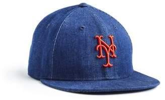Todd Snyder + New Era + NEW ERA MLB NEW YORK METS CAP IN CONE DENIM