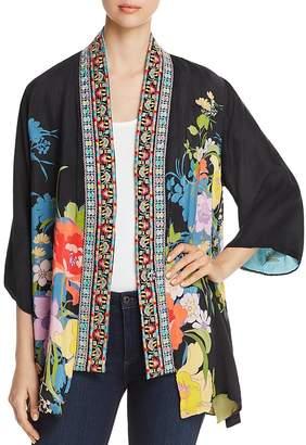 Johnny Was Fuska Reversible Print Kimono