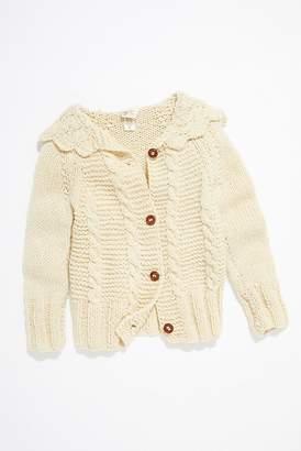 Vintage Loves Vintage 1970s Hand Knit Cardigan