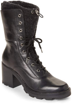 Sigerson Morrison Gladys Leather Lace-Up Boots