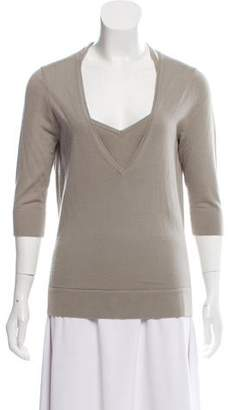 Kaufman Franco KAUFMANFRANCO Cashmere Layered Sweater